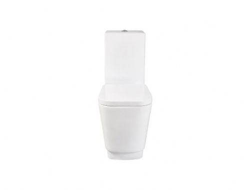 Bellisi Close Coupled Toilet Inc Soft Close Seat